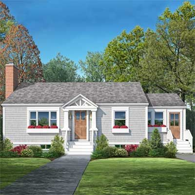 Remodelaholic | Reader Question: Mid-Century Cape Cod Curb Appeal