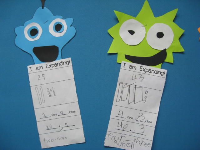 Place Value Monsters Cute Way To Practice Expanded Form Smiling