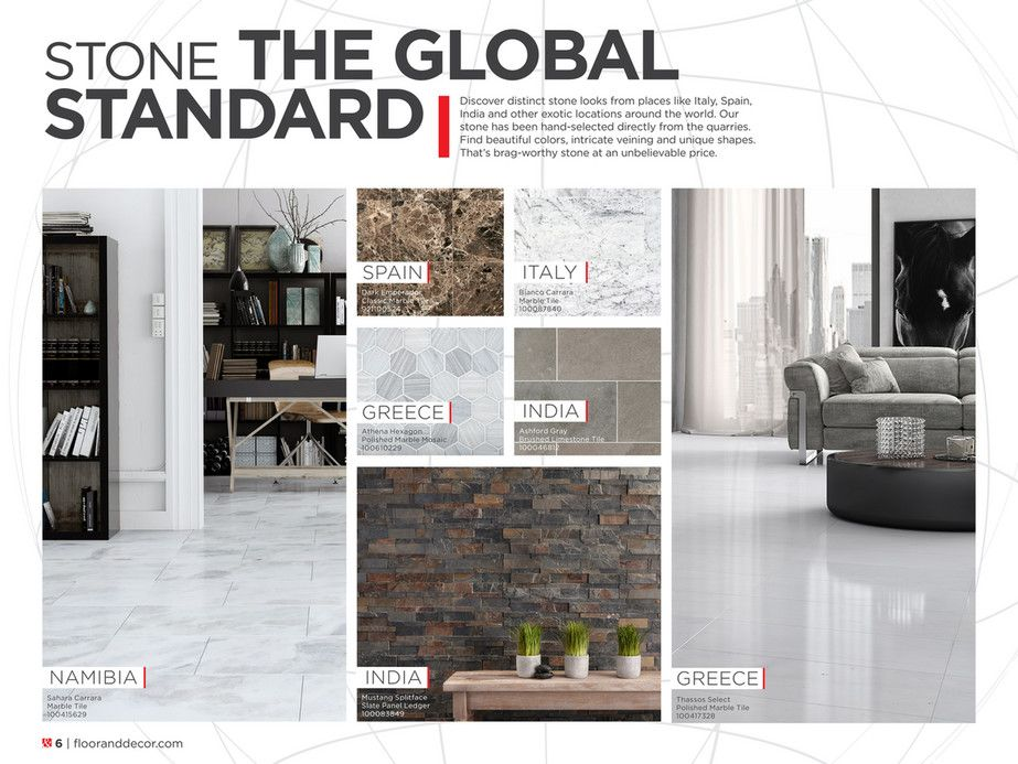 Spring 2020 Inspiration Catalog Floor Decor Carrara Marble Sahara Carrara Polished Marble Tile 6 X 12 Whit Floor Decor Flooring Polished Marble Tiles
