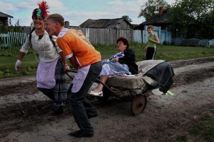 Сельская свадьба во всей красе (13 фото) (с изображениями ...