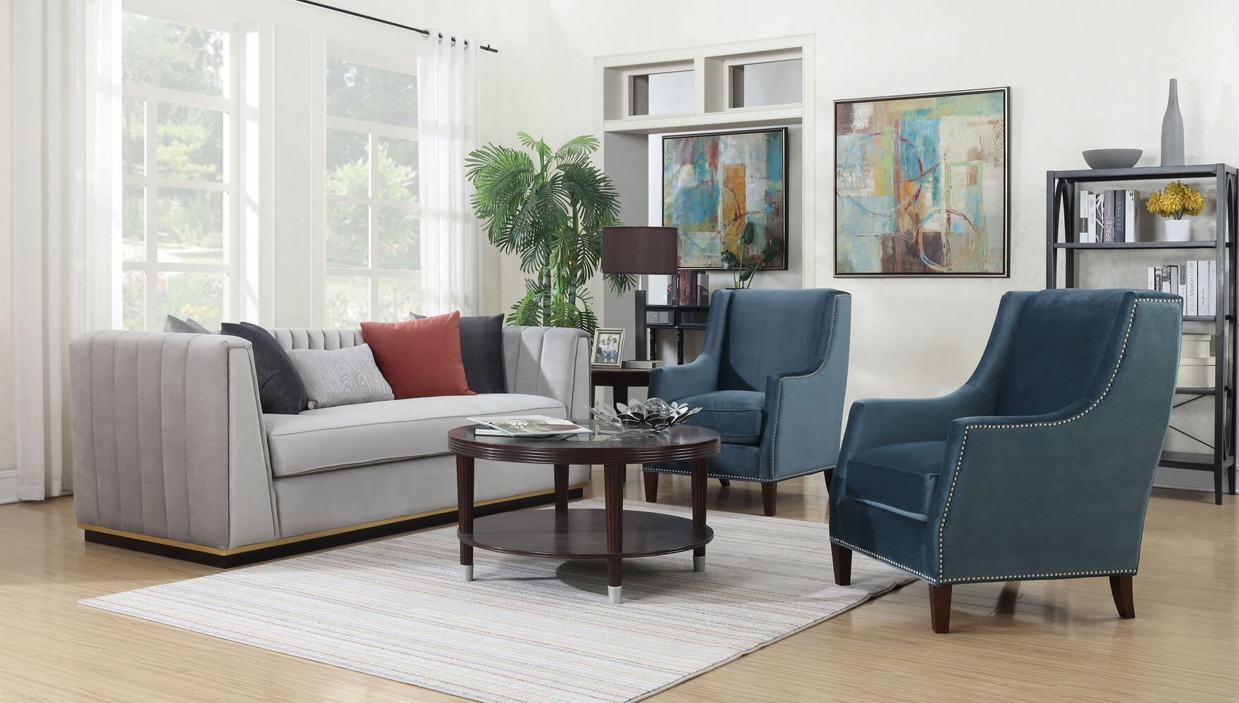 Dove Living Room Collection | Sofa, loveseat set, Living ...