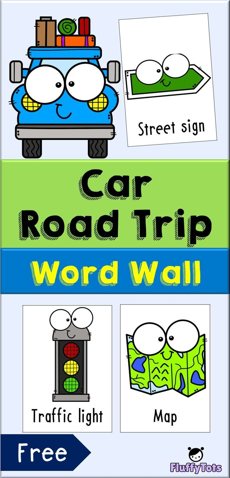 Free car road trip word wall are you going for a road