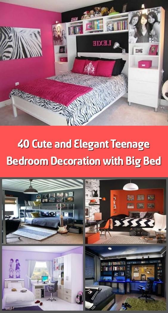 40 cute and elegant teenage bedroom decoration with big on better quality sleep with better bedroom decorations id=32477