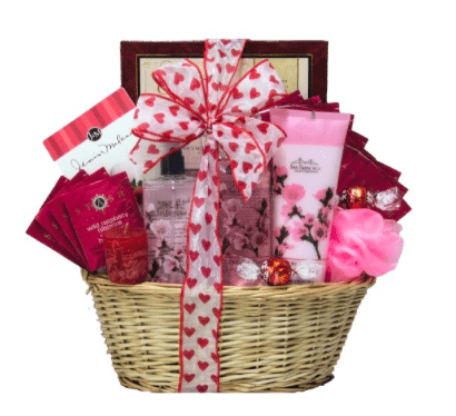 Valentine Gift Basket Cup Of Love Giveaway Hop Comeback Momma Valentine S Day Gift Baskets Valentine Gift Baskets Valentine Baskets