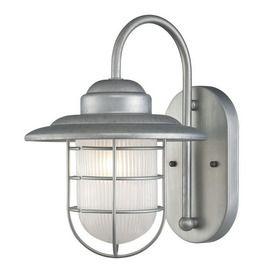 Superb Millennium Lighting R Series 11 1/2 In Galvanized Outdoor Wall Light