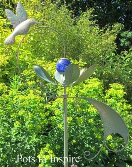 Jonart Wind Spinner Metal Hidcote Garden Sculpture | Woodside Garden Centre  | Pots To Inspire
