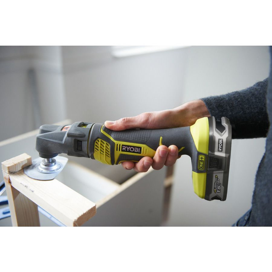 Saw and Sand with the Multi-tool. The MUST-HAVE tools for any keen DIY'er. Complete up to 6 different jobs with the 1 tool. The 18V Cordless Multi Tool from Ryobi's ONE+ System| Power Tools | Ryobi Tools