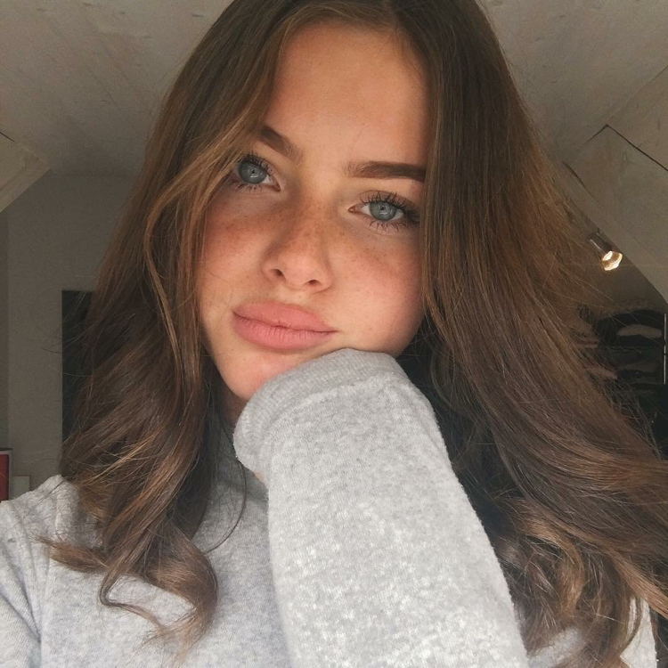 Augen Haare Gesicht Sommersprossen