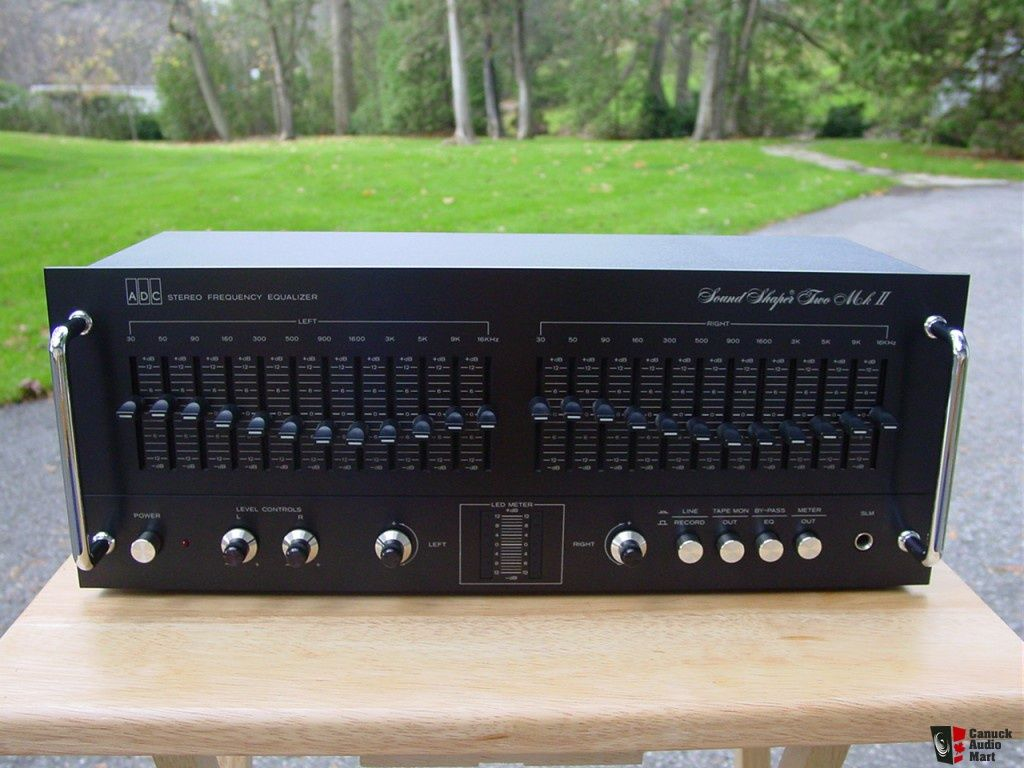 Hifi 24 Adc Equalizer Hcm Equalizer Adc Sound Shaper Two Mkii