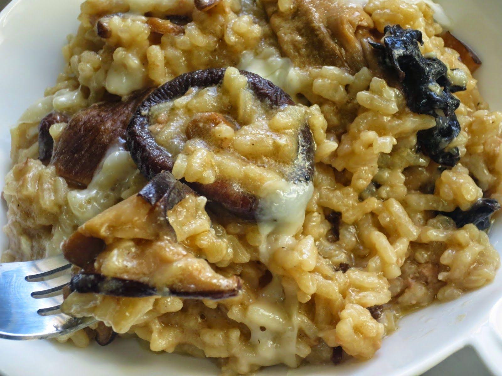 Risotto De Setas Y Foie Ana Sevilla Cocina Tradicional Risotto De Setas Recetas De Cocina Sana Recetas Con Arroz