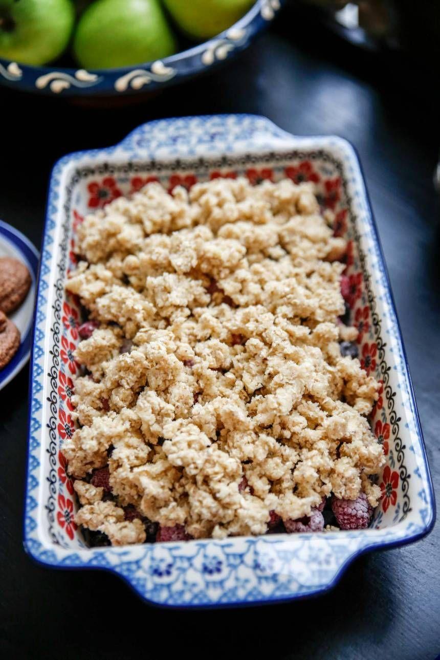 glutenfri blåbärspaj med mandelmjöl