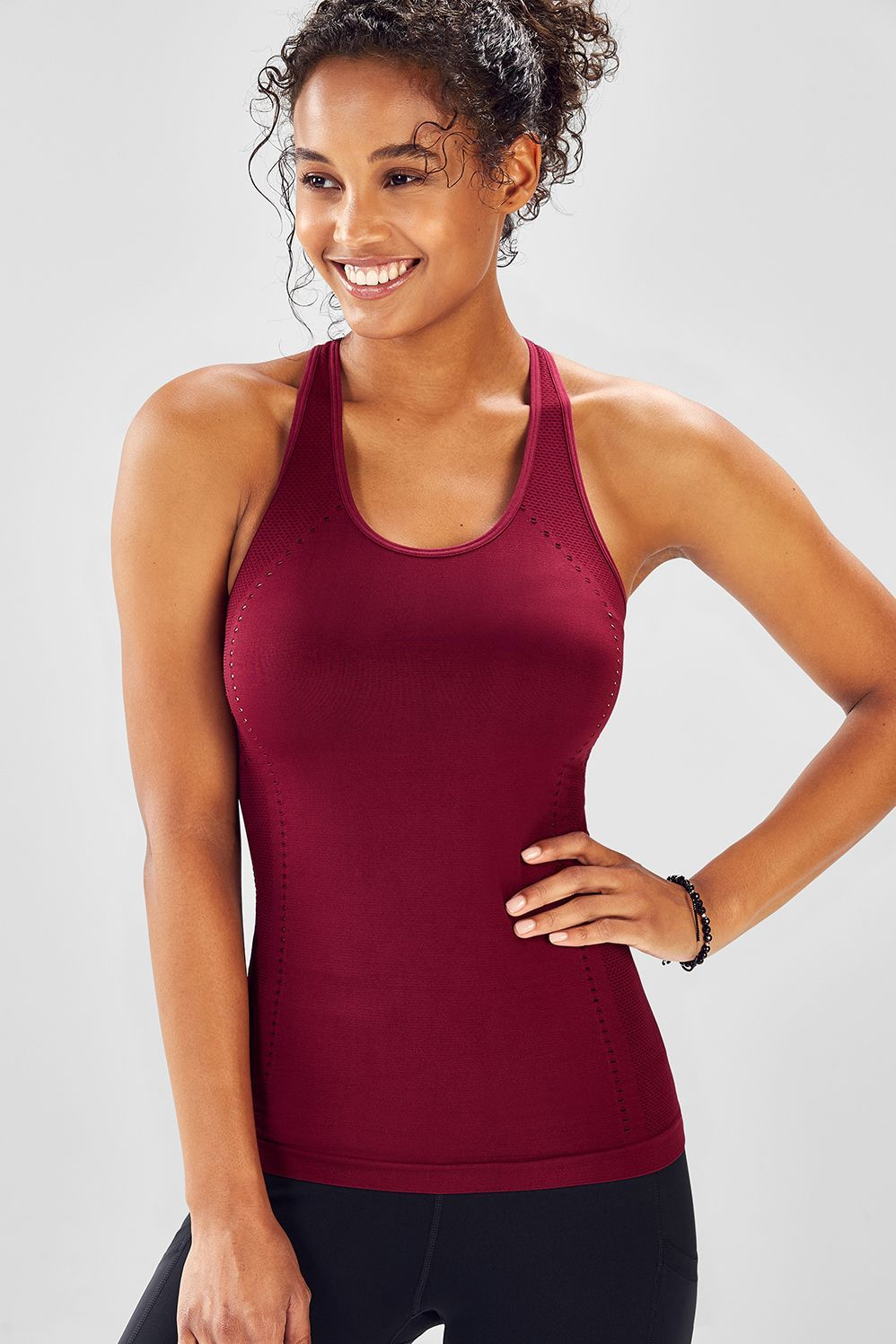 cec308262ab39c We upgraded our best-selling seamless tank with even more breathable  cutouts in all the right places.