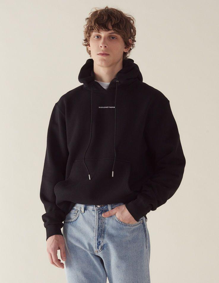 hoodie homme sandro