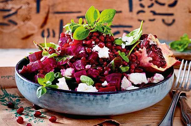 "Rote-Bete-Salat ""Granate"" Rezept | LECKER"
