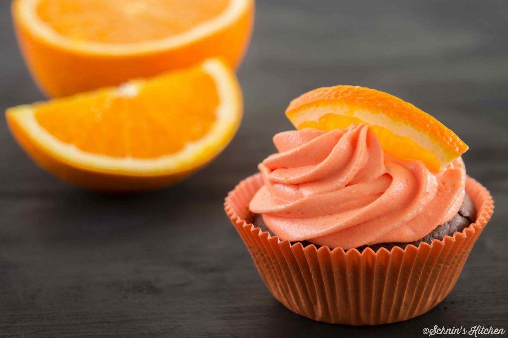 Orangen-Cupcakes- Schnins Kitchen