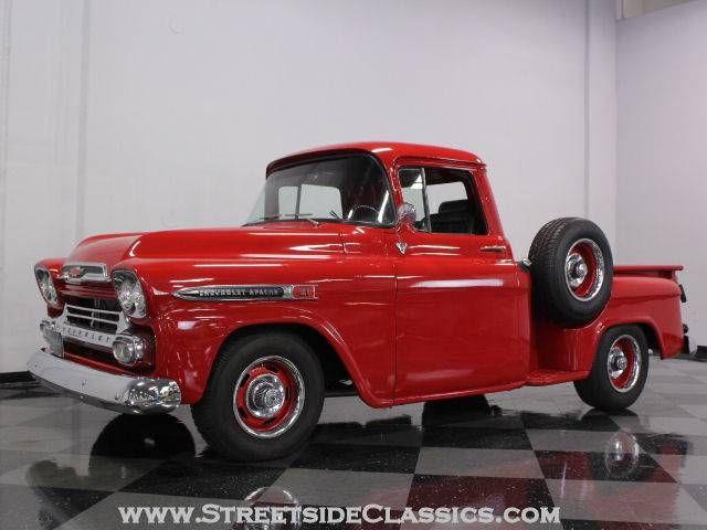 1959 Chevrolet Apache Pickup Truck Chevy Trucks Pickup Trucks