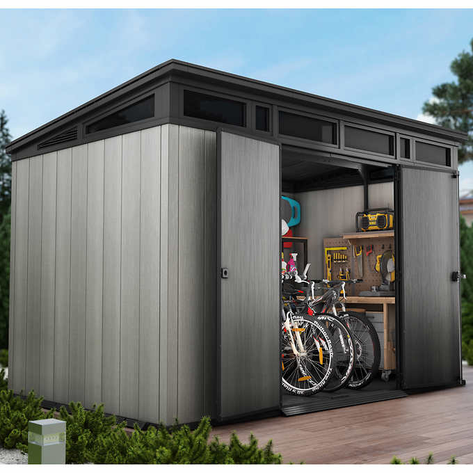 Keter Artisan 11 Ft 7 Ft Shed Shed Outdoor Storage Sheds Outdoor Storage Solutions