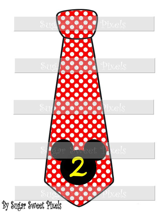 INSTANT DOWNLOAD Red White Polka dot Mouse Head by sugarnspicebow