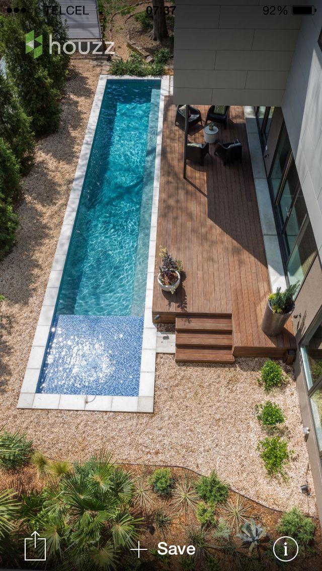 Canal de nado outside pinterest piscinas albercas y for Piscina de canal