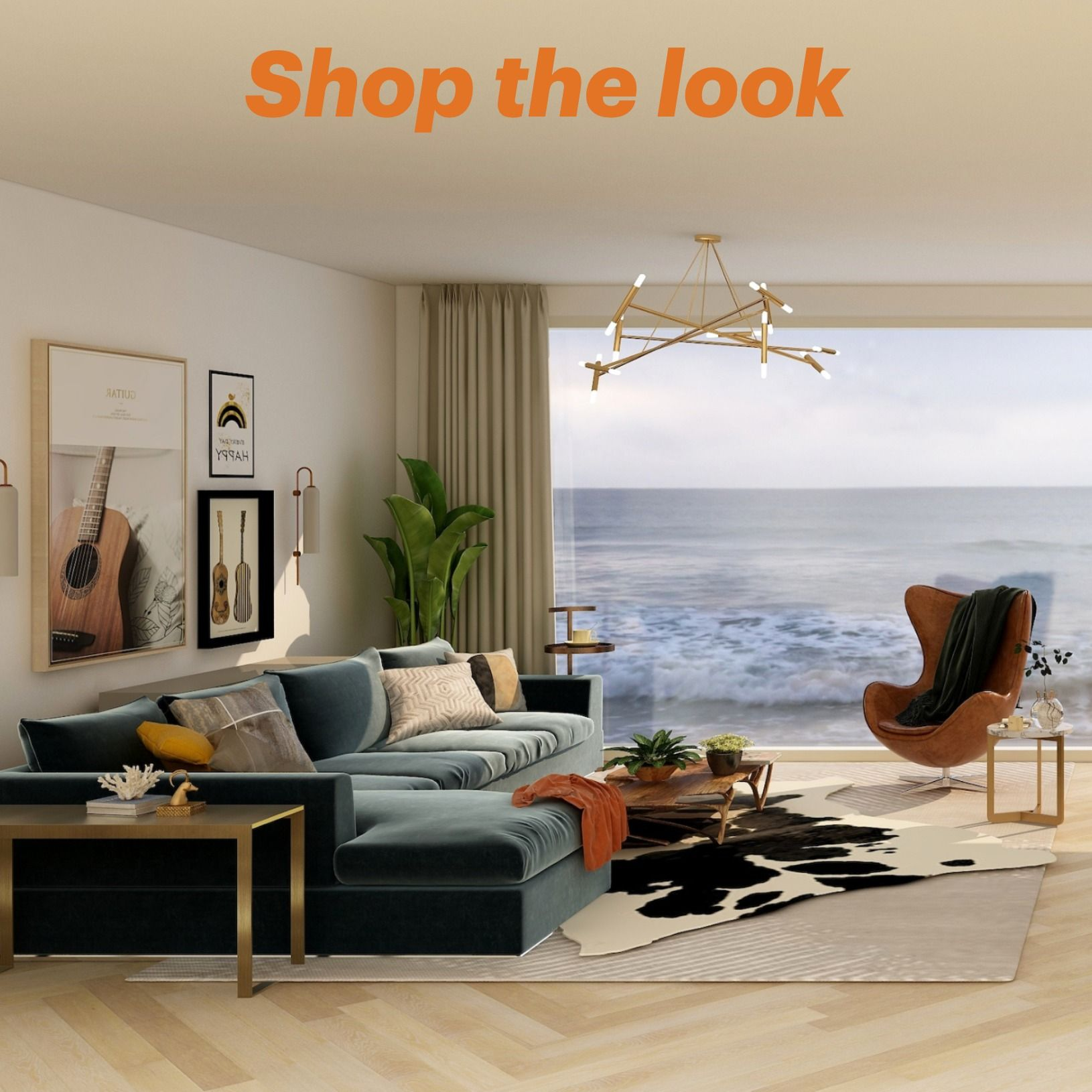 Shop The Look Living Room In 2020 Luxury Living Room Living Room Transformation Mood Board Living Room #shop #this #look #living #room