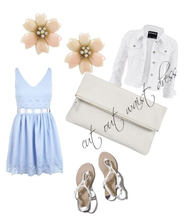 """""""cut out waist dress"""" by winfreygirl on Polyvore featuring Miss Selfridge, maurices, Whistles and Abercrombie & Fitch"""