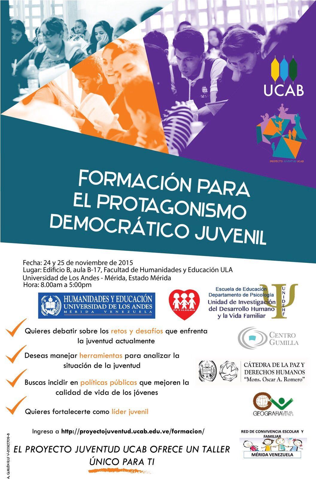 https://flic.kr/p/ABY3St | ¿Joven? ¿Emprendedor y líder? ¿Con aspiraciones sociales, económicas o políticas? Mérida 24 y 25 Noviembre