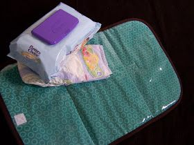 Made by Me. Shared with you.: Wipeable Changing Pad for Baby