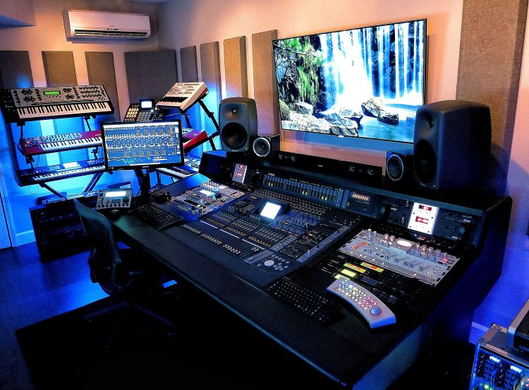 edm sound studio est quase j vai a meio music studio ideas pinterest am nagement. Black Bedroom Furniture Sets. Home Design Ideas