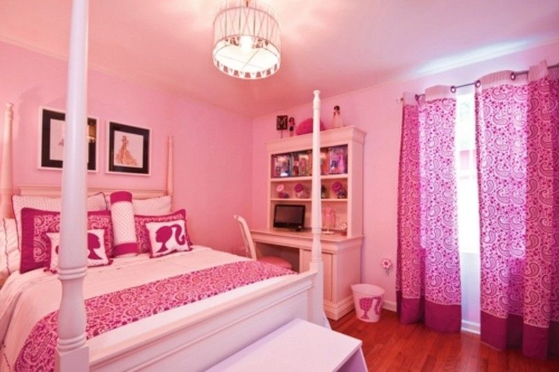 Teenage Rooms: Tricks For Pretty Girl's Bedroom Decoration