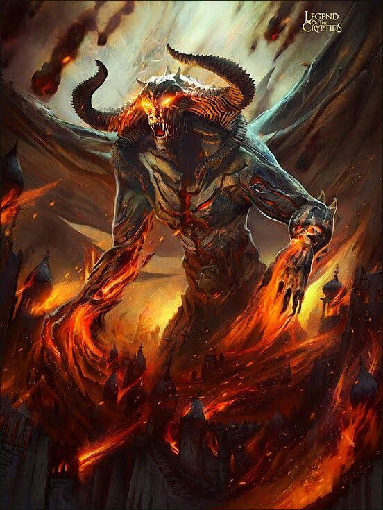 belial | Fantasy demon, Fantasy monster, Demon art