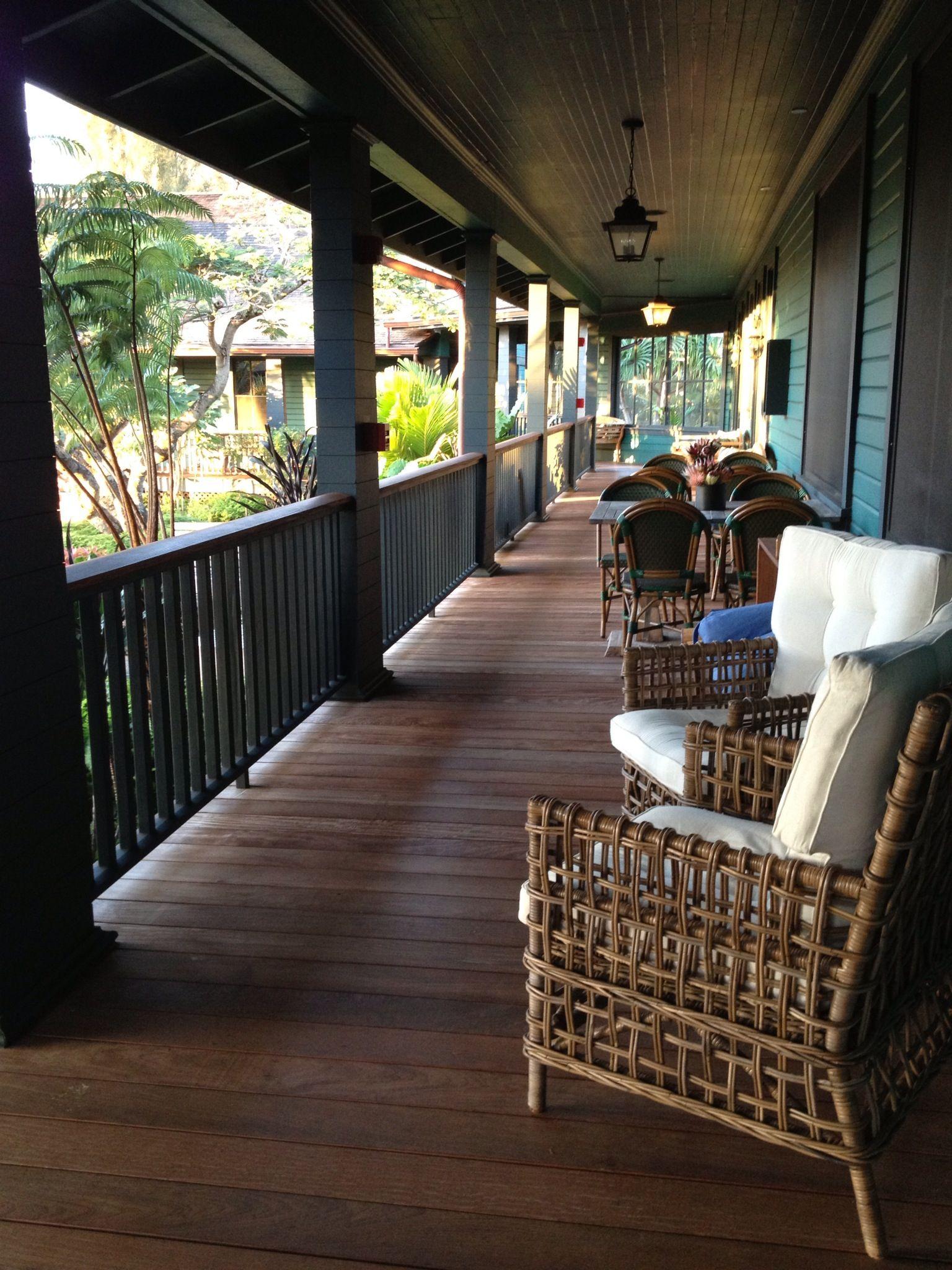 Zen porch