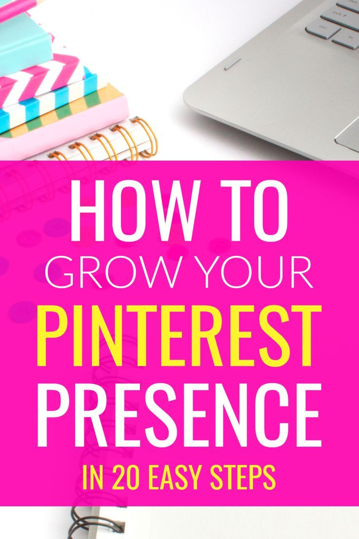 Want to grow your Pinterest account on a budget? This workbook will guide you through 20 steps you can take to start growing your Pinterest presence today! It's filled with awesome, actionable tips you can put into action right away. Click through to grab