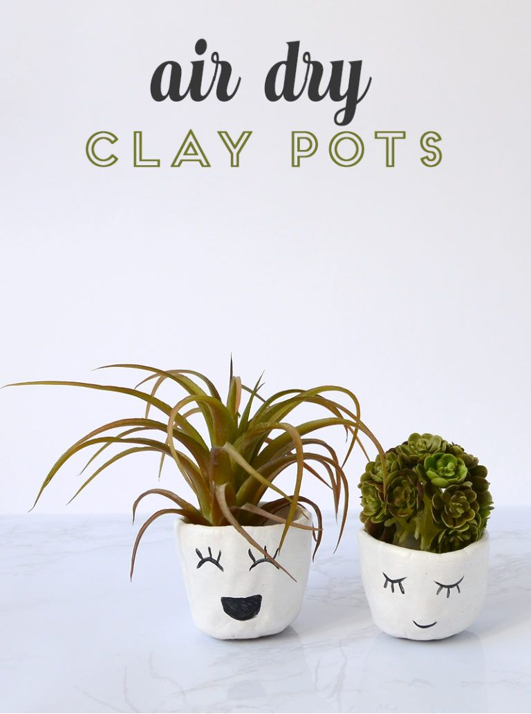 DIY Clay Pots: Easy Project with Air Dry Clay - Consumer Crafts