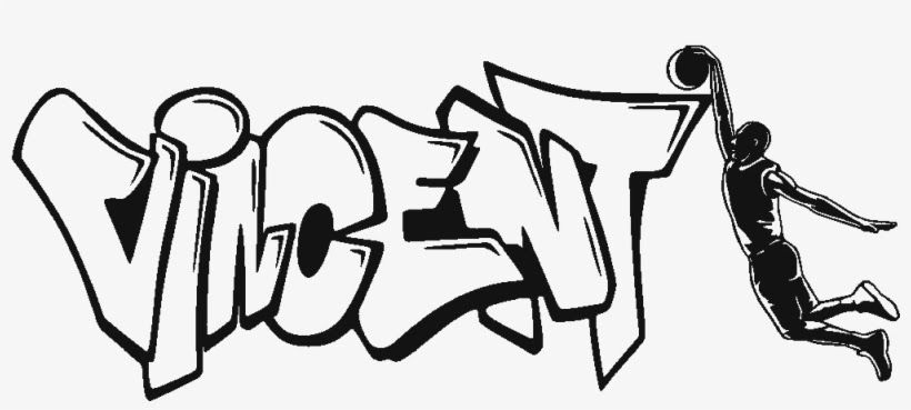 Gambar Grafiti Gambar Kartun Hitam Putih Simple Ideku Unik