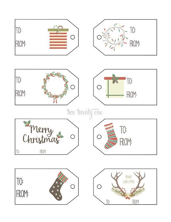 Printable christmas tags design pinterest christmas tag printable gift tags use these cute printable gift tags to decorate your gifts this year negle Gallery