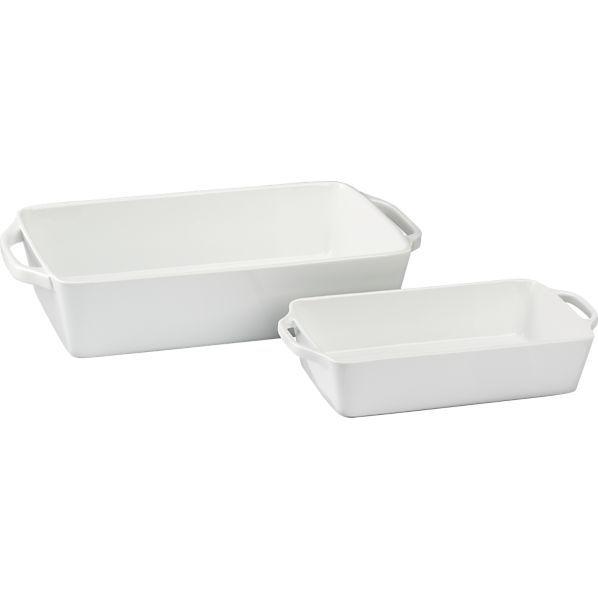 Everyday Baking Dishes White Dinnerware Bakeware Casserole