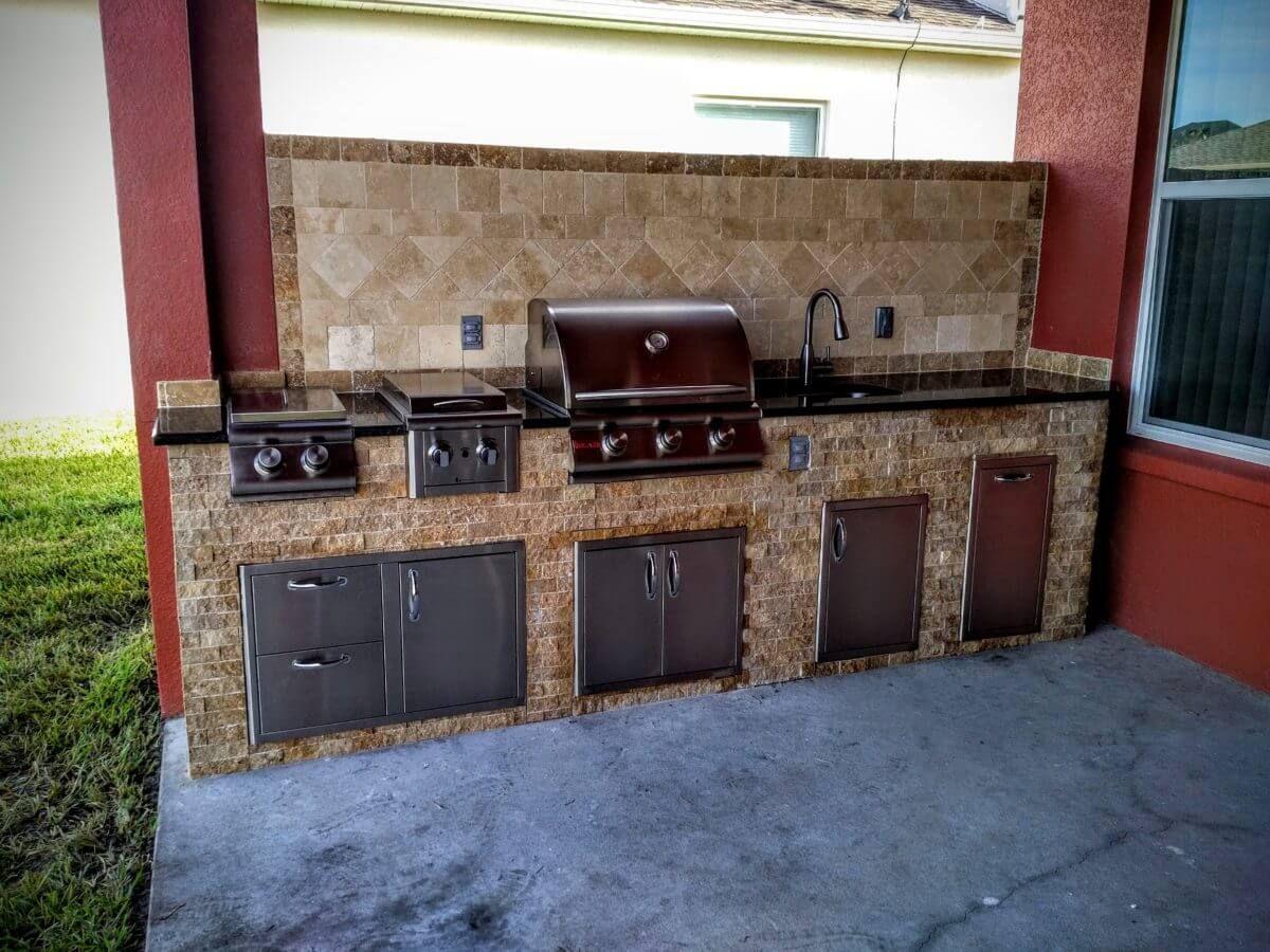 10 Diy Outdoor Kitchen Ideas 2020 Saving The Budget Diy Outdoor Kitchen Outdoor Kitchen Countertops Small Outdoor Kitchens