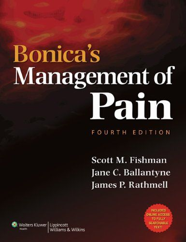Bonica's Management of Pain (Fishman, Bonica's Pain Management) - http://www.healthbooksshop.com/bonicas-management-of-pain-fishman-bonicas-pain-management/