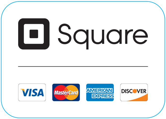 Image result for square sticker with credit cards
