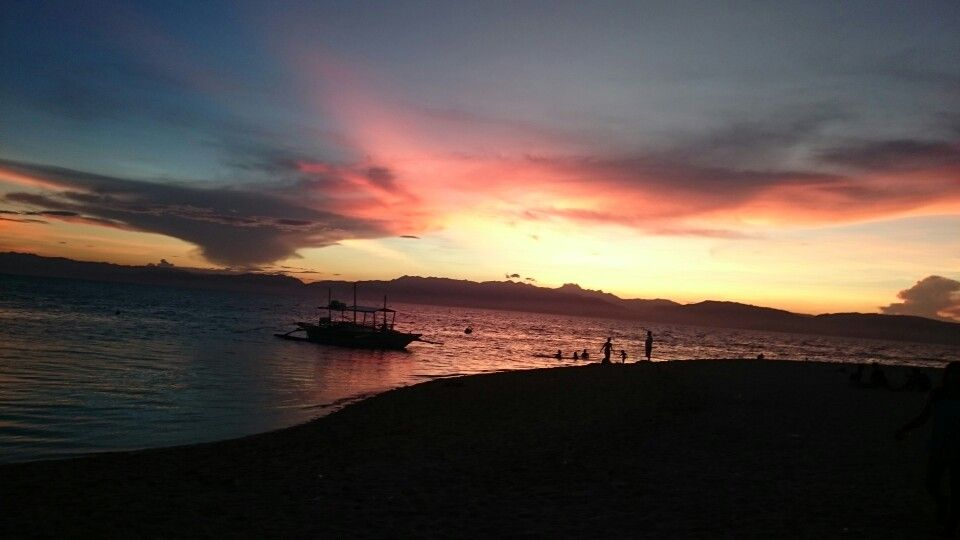 Sunset in Moalboal, Cebu, Philippines