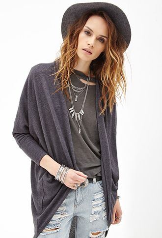 Open Front Knit Cardigan Forever21 I Like The Style But Not