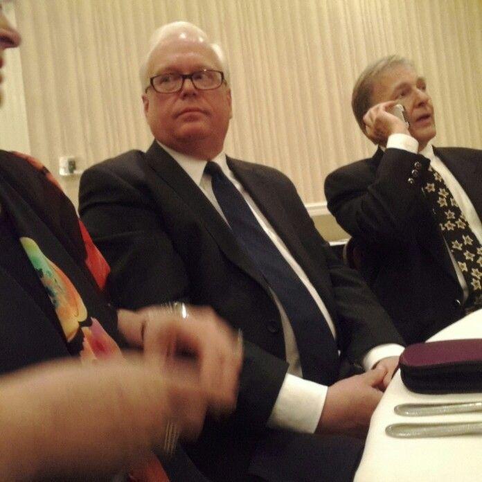 Tom Puckett on the phone.  Tolson dk...