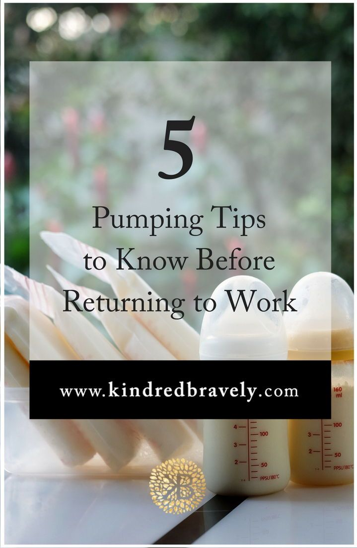 5 Pumping Tips To Know Before Returning To Work  Mom -3709