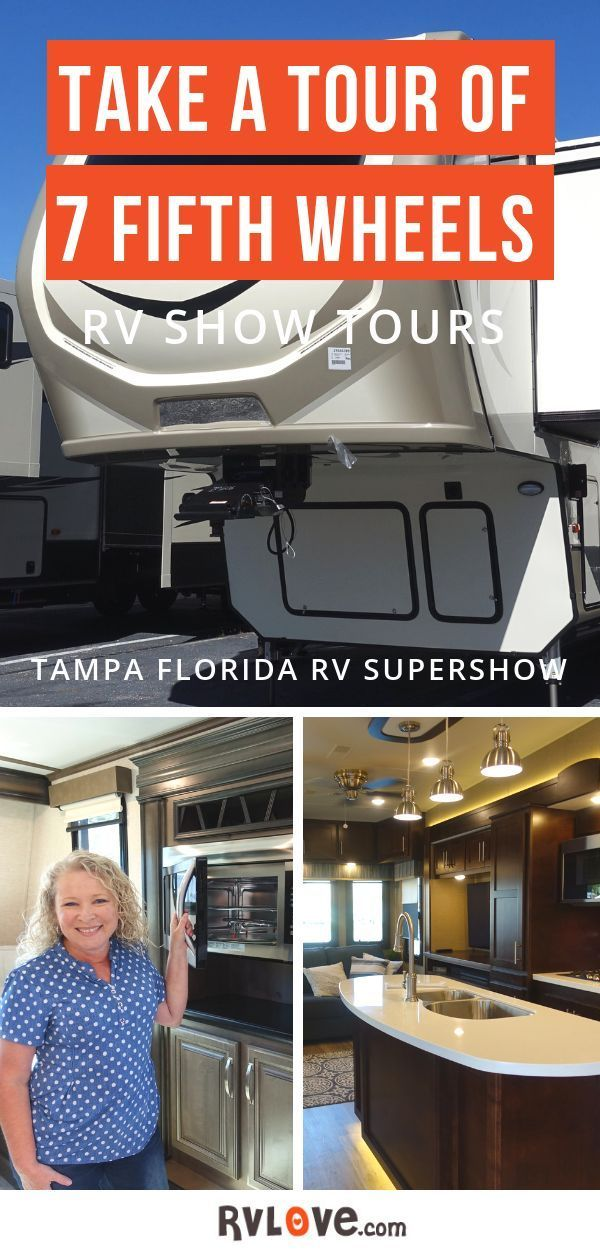 Take A Tour Of 7 Fifth Wheels From The Tampa Rv Supershow Marc
