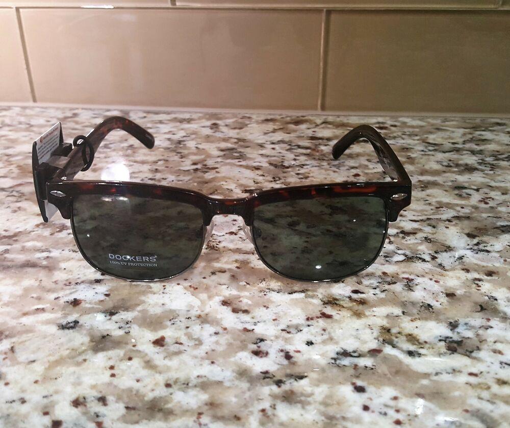 2fb297e71677e NEW MENS DOCKERS Brown Frame Sunglasses  DOCKERS  AVIATOR