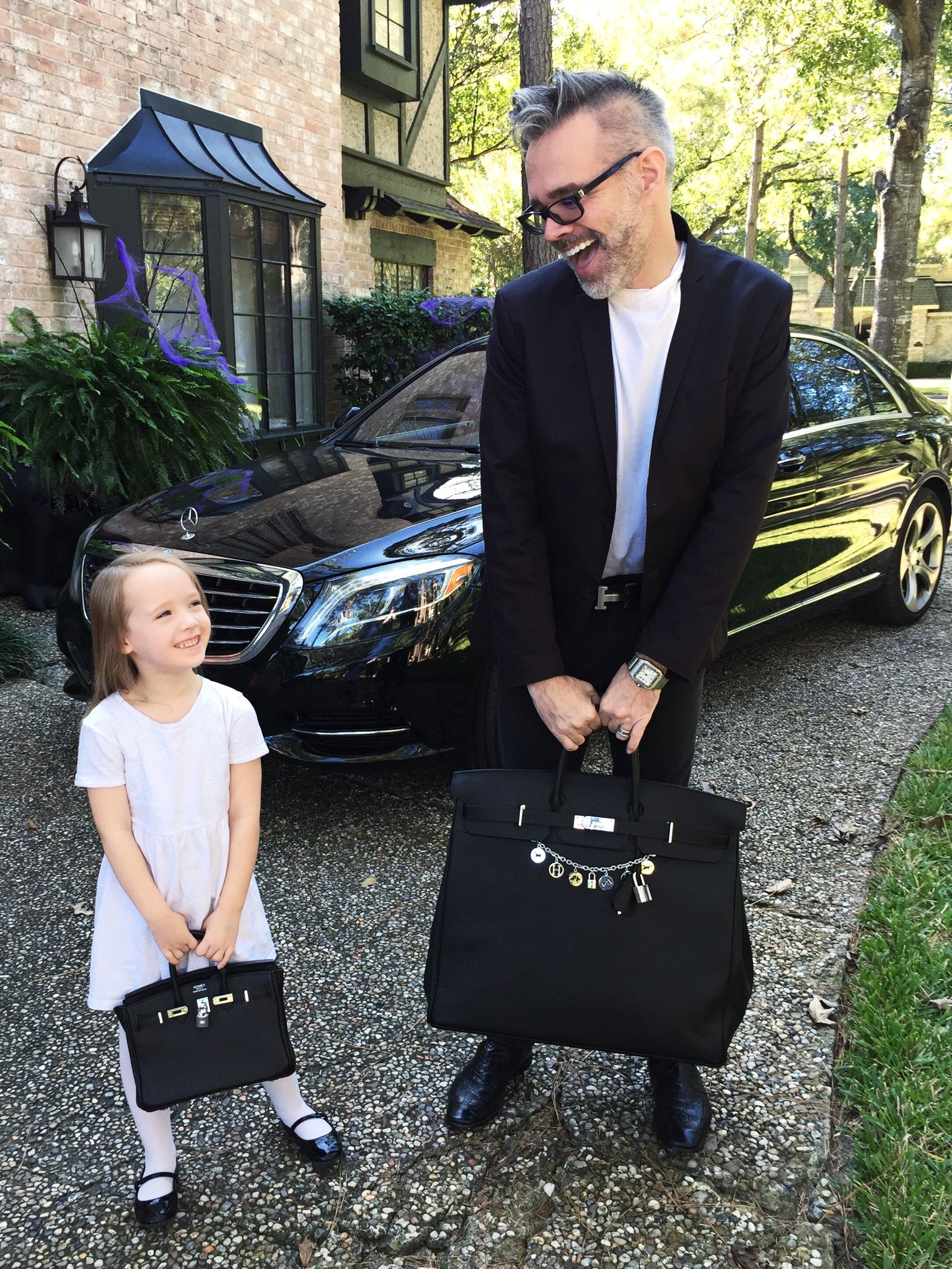 bdeff700d82 Daddy Daughter Birkins HAC 50cm Birkin 25cm
