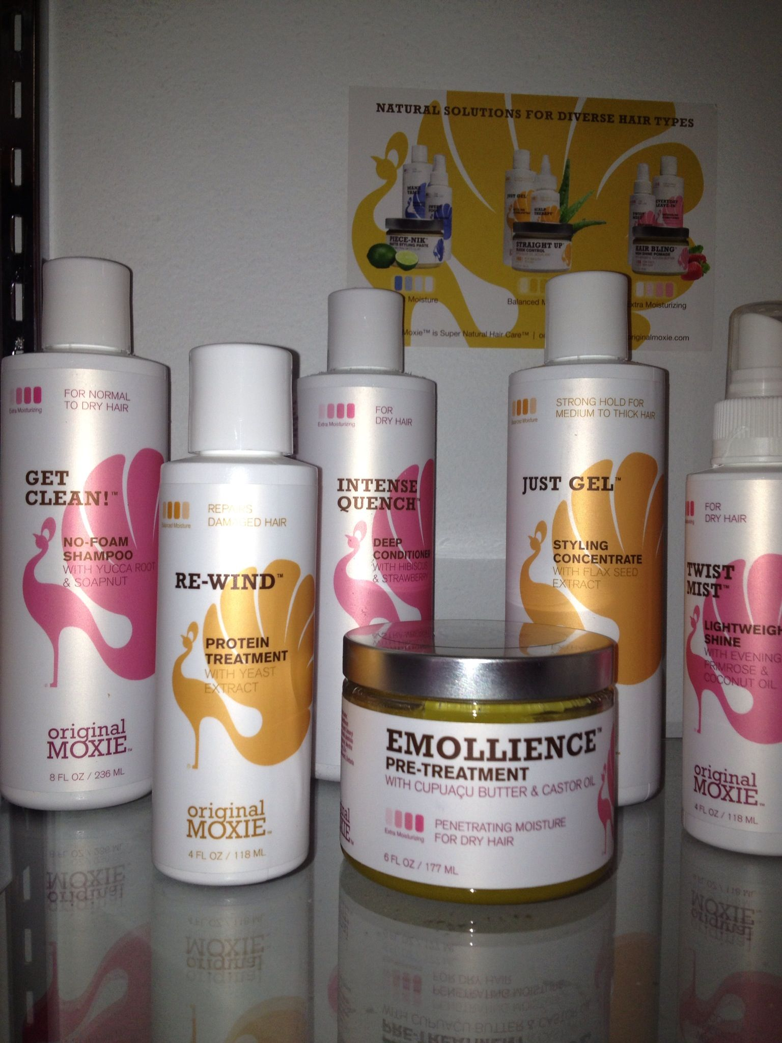 Original Moxie Natural Products Salon Quality products for
