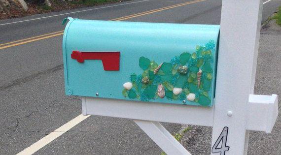 custom beach mailbox