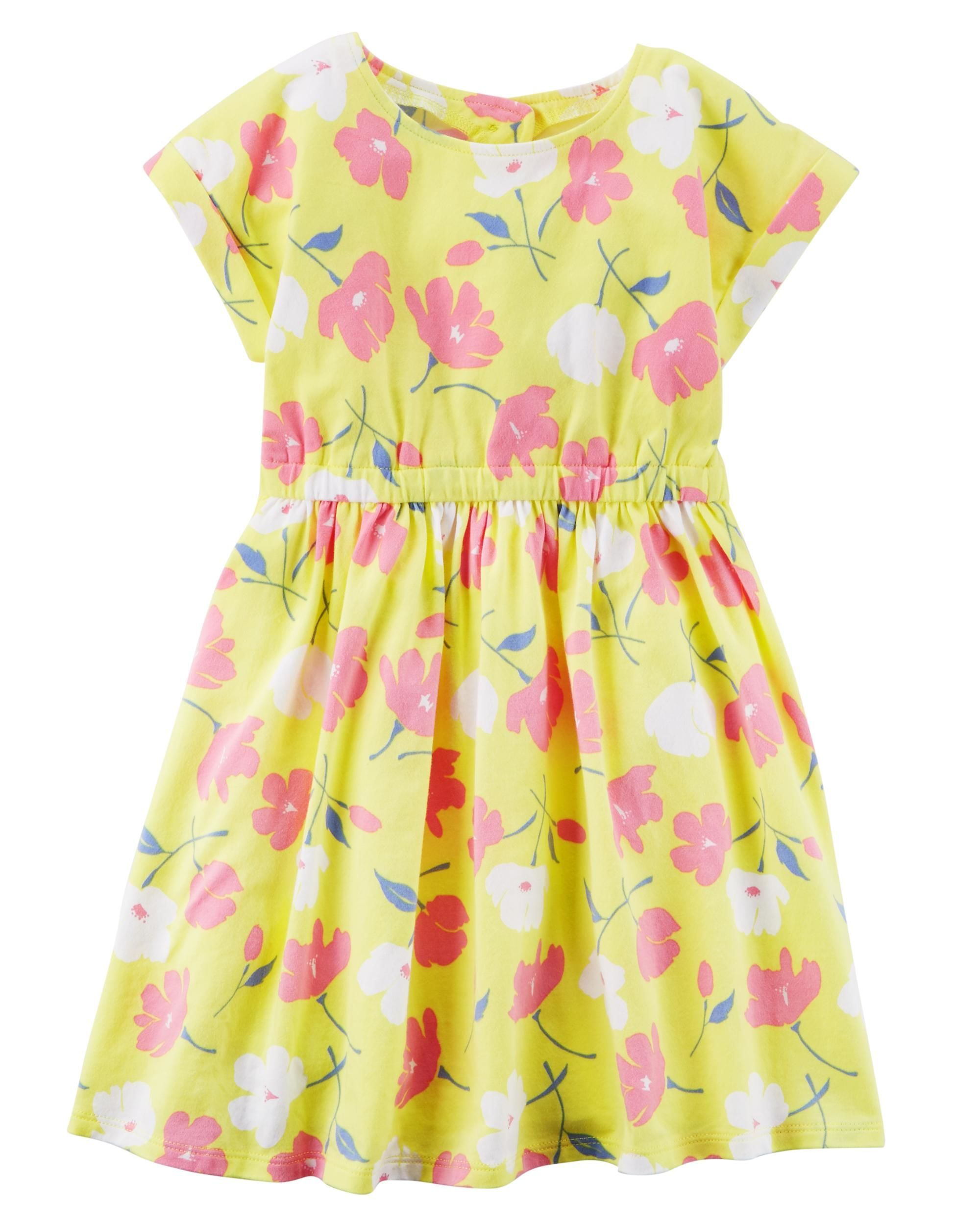 e1a44904 Cut-Out Back Floral Dress | #babygirljohnson style. | Dresses ...