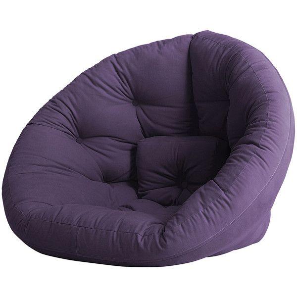 Round Furniture Purple Couch